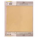ミニ黄銅板 粘着付 M660 0.1X225X300【久宝金属製作所】